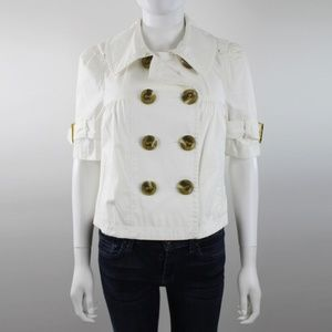 Juicy Couture Double Breasted Short Sleeve Jacket